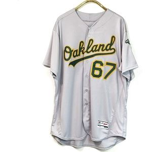 NWT Majestic Oakland A's Jersey size 56